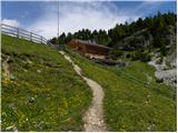 carbonin - Dürrensteinhütte / Rifugio Vallandro