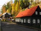 Narodni park Češka/Saška ŠvicaLepe hiške v Jetřihovicah.