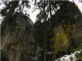 Narodni park Češka/Saška ŠvicaTako pa izgleda od spodaj.