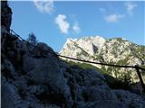 Krnička gora iz Matkove Krnicejeklenice zadaj Baba