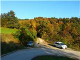 Polhograjska Grmada in Toščin jesen v svojih barvah