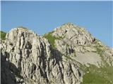 Creton di Tul (2287) in Creta Forata (2462)Creton di Tul