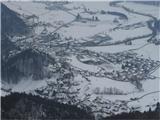 Polhograjska Gora (Sveti Lovrenc)Pogled proti Polhovemu Gradcu