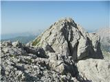 Creton di Tul (2287) in Creta Forata (2462)creta Forata z predvrha