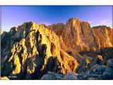 Čudovita naravaZlate gore z vrha Špika