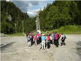Stegovnikse zbiramo za vzpon na Vetrh vrh