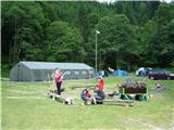 Stegovnikpogled na del tabora, zastavo je nekdo ukradel::))