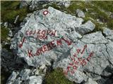 Kalški grebennajprej še na Kalško goro, potem pa nazaj in do Cojzove koče