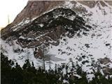 Kalška gora...mimo jezerca Krvava lokev, do lovske koče in v dolino