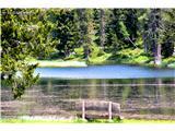 DolomitiOb jezeru...