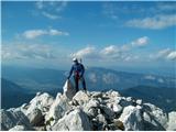 Prečenje Via de la Vita - Vevnica - Strug - Poncena Veliki Ponci, še zadnji vršac iz kluba 2000m v tem grebenu