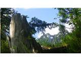 Krnička gora iz Matkove KrniceMatkovo okno