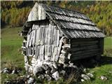 Slovenske planine v vseh letnih časihNa planinah me zanima arhitektura starih stanov ali pastirskih hiš.