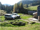 Slovenske planine v vseh letnih časihDo sem se pripeljejo celo z avtom.