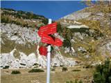Slovenske planine v vseh letnih časihGre se levo ali desno ali pa navzdol.