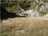 Slovenske planine v vseh letnih časihNaprej se s te strani nadaljuje pot na Studorski praval.