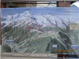 Mont Blanc / Monte Bianco Via normale na Mt. Blanc ....
