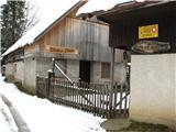 Slovenske planine v vseh letnih časihPridemo do druge sirarne Jerom.