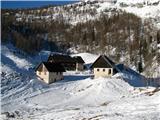 Slovenske planine v vseh letnih časihPokaže se nam sama planina Lipanca.