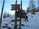 Slovenske planine v vseh letnih časihTu je izhodišče za nešteto smeri.