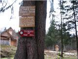 Slovenske planine v vseh letnih časihTu nas povabijo na kmetijo Dolenc in v Želazničarski dom Vogar-1050m.