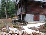 Slovenske planine v vseh letnih časihMimo dveh prijetnih koč.