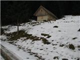 Slovenske planine v vseh letnih časihOdločil sem se , da grem do parkirišča odkoder se gre nato na Pršivec levo ali desno na planino Viševnik.