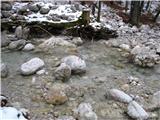 Slovenske planine v vseh letnih časihTudi čez potoček moramo.