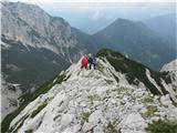 Krnička gora iz Matkove KrniceNa grebenu