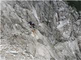 Krnička gora iz Matkove KrniceNa markirani poti smo si malce oddahnili