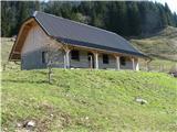 Slovenske planine v vseh letnih časihNov hlev.