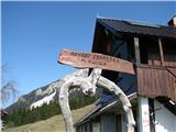 Slovenske planine v vseh letnih časihPlanina ima dva imena.
