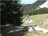 Slovenske planine v vseh letnih časihTo je pa pogled od zgoraj.