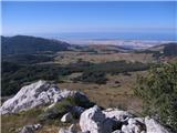 Srednji VelebitStupačinovo - Baške Oštarije s vrha