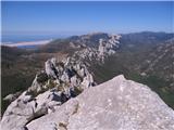 Srednji VelebitPogled s vrha Kize na Dabarske kukove (v daljavi Bačić kuk)