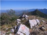 Srednji VelebitMetla - vrh