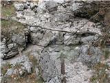 Slovenske planine v vseh letnih časihVseskozi ob poti igra vode.
