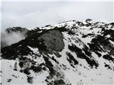 Slovenske planine v vseh letnih časihTako ti vršički oklepajo starodavno planino Stare Stale-od leve proti desni nad planino.