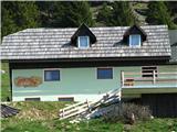 Slovenske planine v vseh letnih časihZadnji pa planšarija Pr. Florjan.