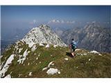 Žrd (2324m)Po grebenu na vrh Žrda