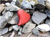 Romanje na Sv. Višarjenekdo mu je pod križem iz ljubezni podaril srce