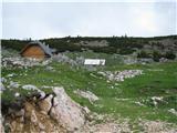 Slovenske planine v vseh letnih časihZapuščamo planino.