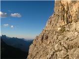 Monte Pelmo (3168)Ballova polica