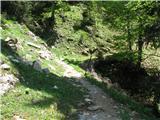 Slovenske planine v vseh letnih časihGrapica je s spodnje strani ograjena.