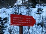Planina Za Skalo in KaluderTukaj piše vse