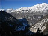 Planina Za Skalo in KaluderDolina Soče ,Kaninsko pogorje in Bavški Grintavec