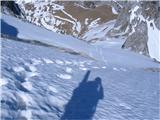 Mangartstopnije od Mangrta so mi omogočile lagoden vzpon