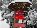 Mrzli vrh (Loncmanova Sivka)nekaj informacij na poti