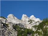 Krnička gora iz Matkove KrniceTroglava Krnička gora.