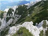 Krnička gora iz Matkove KrnicePodkvasta votlina.